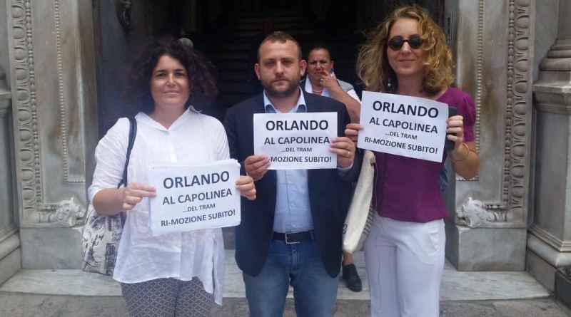 """Crisi Amat, M5S: """"Orlando assente, presenteremo mozione di sfiducia"""""""