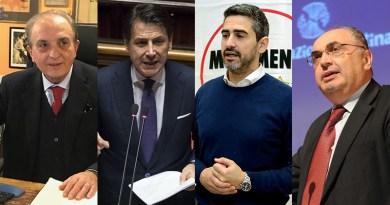 Brenno Begani, Giuseppe Conte, Riccardo FRaccaro, Maurizio Gardini