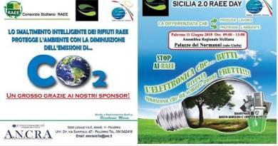 """""""Sicilia 2.0 RAEE Day"""", l'11 giugno a Palermo incontro sui rifiuti da materiale elettrico ed elettronico"""