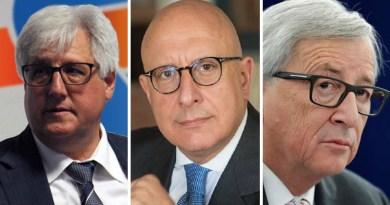Michele Cappadona, Gaetano Armao, Jean Claude Juncker