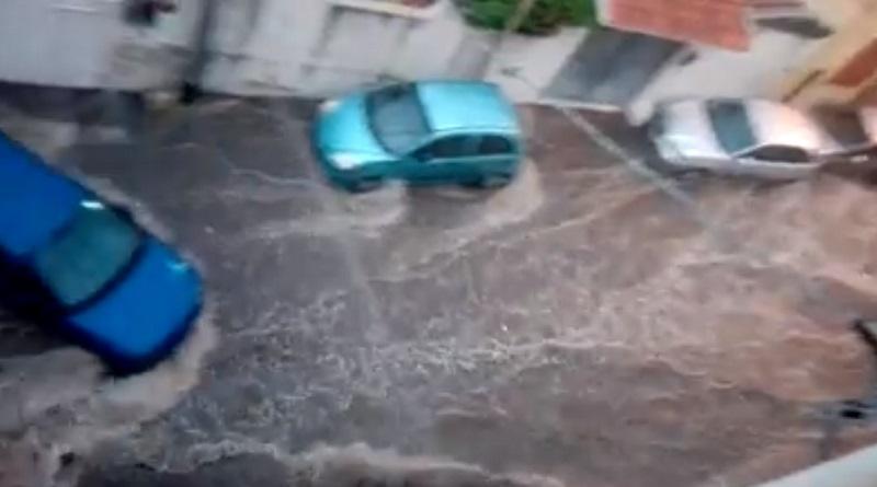 nubifragi Sant'Agata Messina video