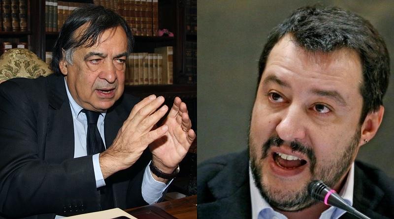 """Migranti, scontro tra Orlando e Salvini sui social. Il sindaco al ministro: """"Attendo la querela"""""""