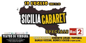 I comici di Sicilia Cabaret arrivano su Rai 2 con due puntate che andranno in onda in seconda serata e che saranno registrate al Teatro di Verdura il 10 luglio