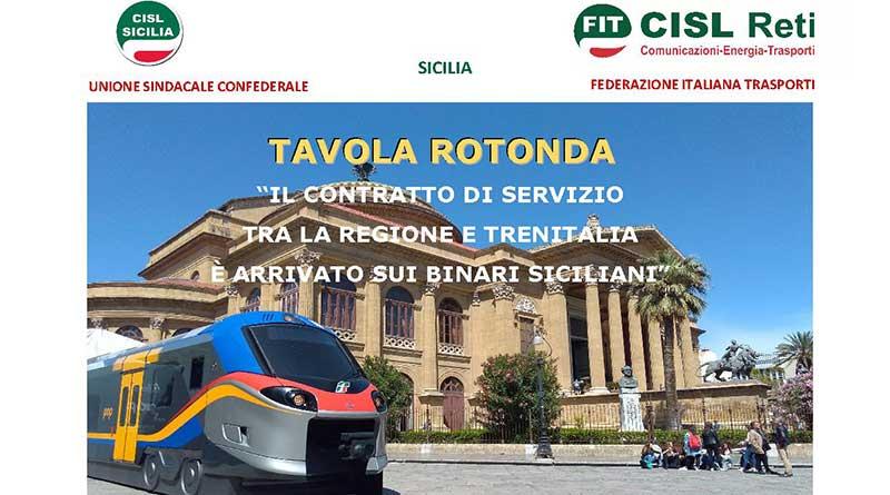 Ferrovie, incontro Cisl sul contratto di servizio con Regione e Trenitalia