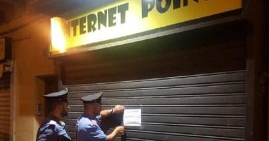 Due centri scommesse privi di autorizzazioni sono stati scoperti dai Carabinieri della Compagnia San Lorenzo nel quartiere Arenelladi Palermo. Sequestrati immobili e attrezzature