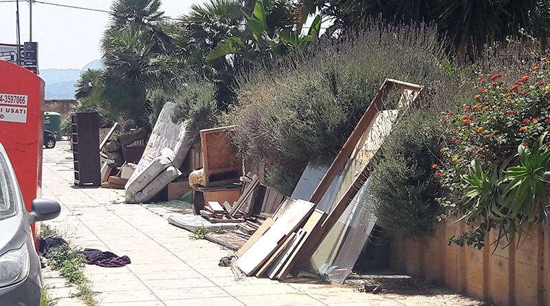 discariche abusive Arenella, Seconda Circoscrizione Palermo