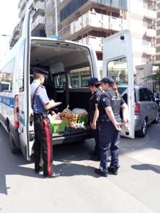 Operazione congiunta di Polizia Municipale e Carabinieri a Palermo: sequestrati oltre 110 chili di pane in viale Campania e in zona Policlinico