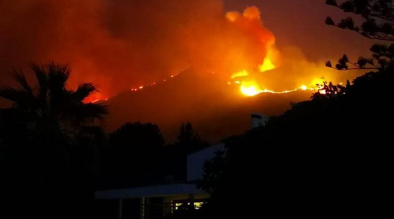 Incendio di Altavilla Milicia