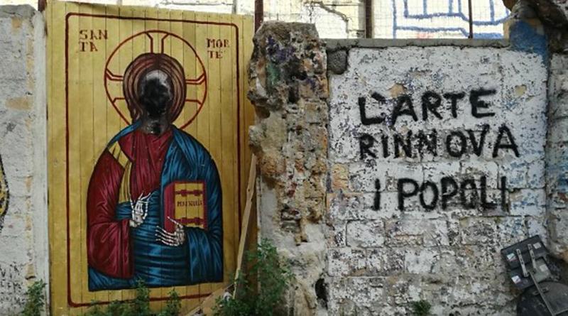 """Vucciria, La """"Santa Morte"""" sfregiata"""