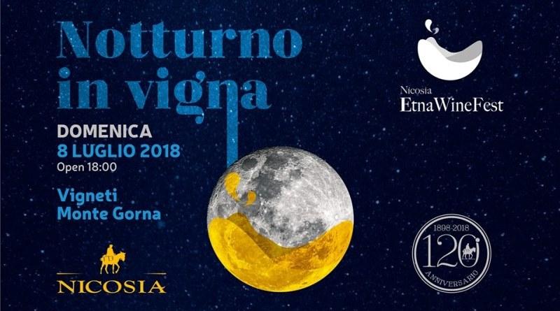 """Nicosia Etna WineFest, domani a Trecastagni cena e spettacoli con """"Notturno in Vigna"""""""