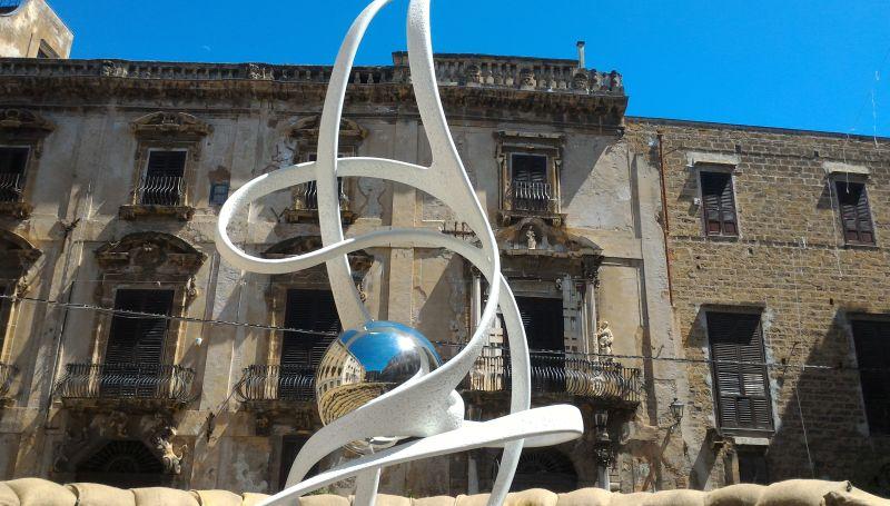 La Spirale della Vita a Piazza Bologni, Palermo