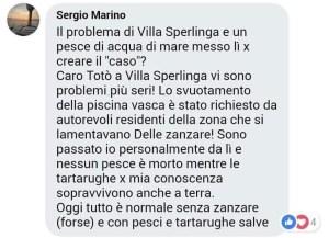 Le dichiarazioni del vicesindaco Sergio Marino