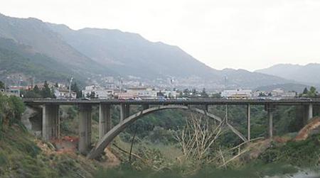 Ponte Corleone a Palermo