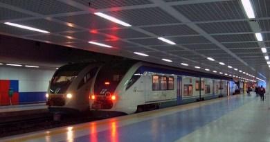 Treni alla Stazione ferroviaria dell'Aeroporto Falcone-Borsellino di Palermo - Punta Raisi