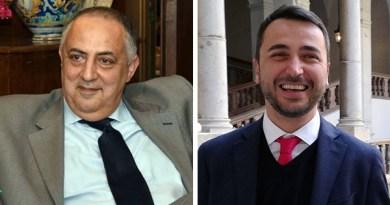 Roberto Lagalla e Michele Catanzaro