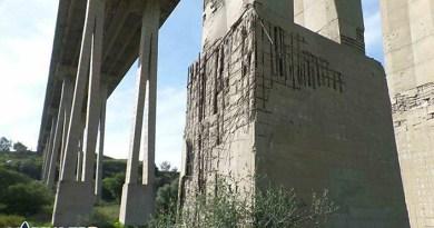 Piloni viadotto Morandi, Agrigento