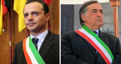 Cateno De Luca e Leoluca Orlando