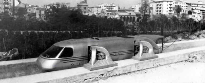 Il primo prototipo di treno superveloce costruito al Centro ricerche di Trapani-Milo