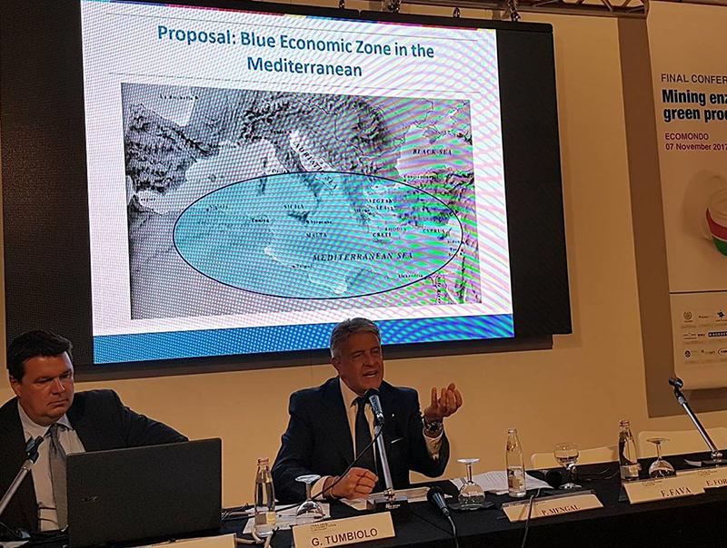 Giovanni Tumbiolo, Blue Economic Zone