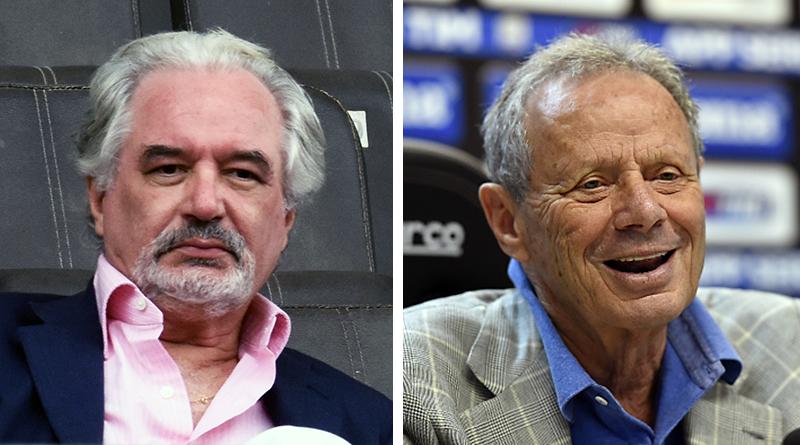 Antonio Ponte e Maurizio Zamparini