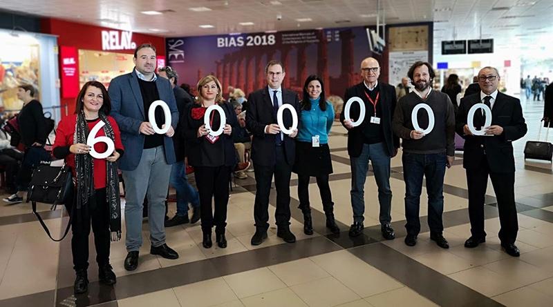 Sei milioni di passeggeri 2018 Aeroporto di Palermo