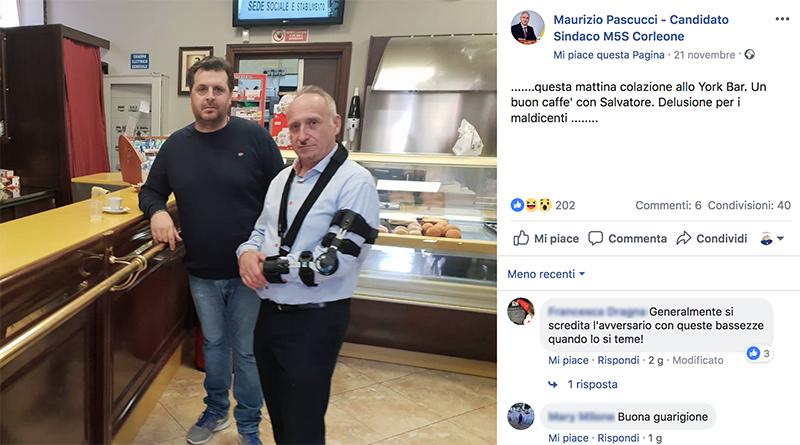 Maurizio Pascucci e Salvatore Provenzano