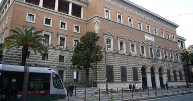 Ministero della Giustizia, via Arenula, Roma