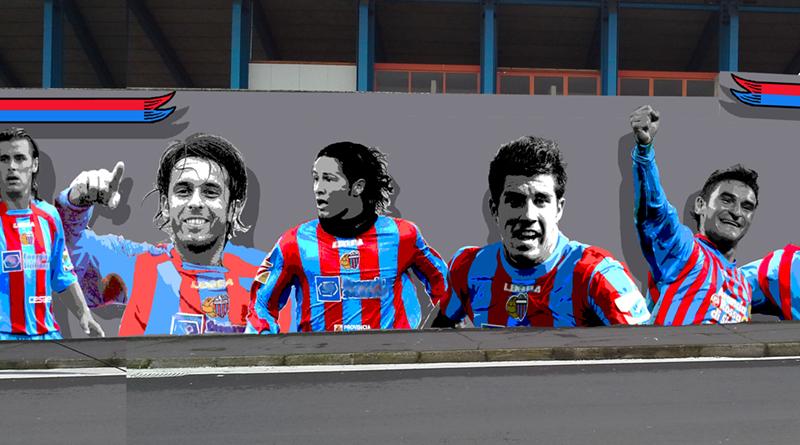 Murales stadio Cibali Catania