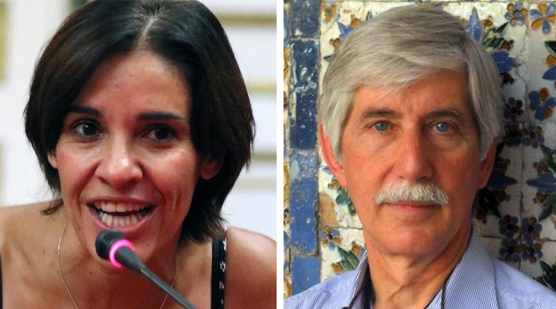 Sabrina Figuccia ed Emilio Arcuri
