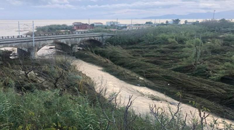 Foce fiume Milicia a Casteldaccia