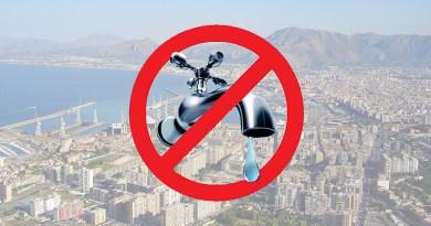 carenza d'acqua, sete a Palermo
