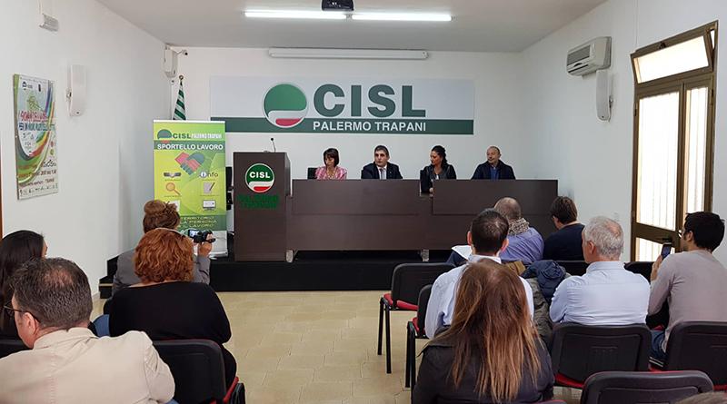 Presentazione nuovo Sportello Lavoro Cisl a Trapani