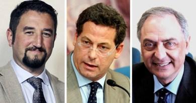 Giancarlo Cancelleri, Gianfranco Miccichè, Roberto Di Mauro
