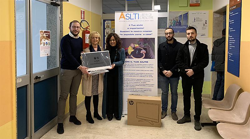 Pc donato a Ospedale Civico di Palermo