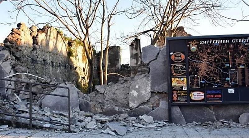 Terremoto a Zafferana Etnea - Catania