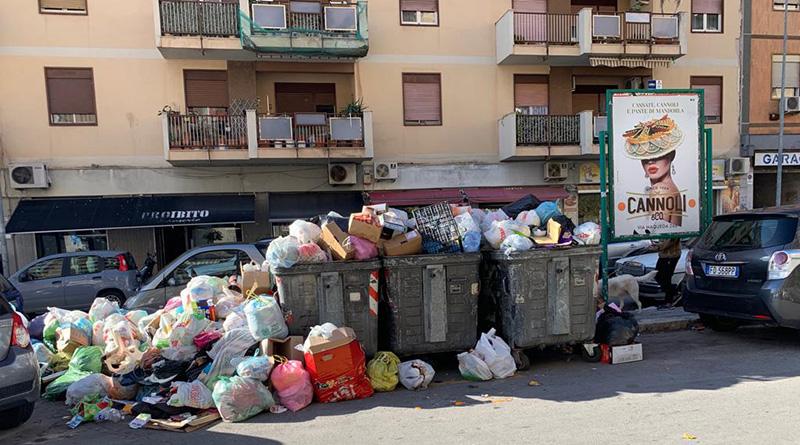 rifiuti a Palermo
