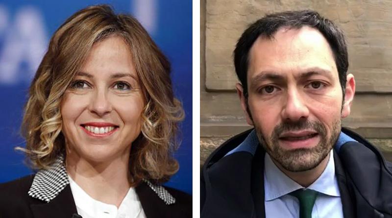 Giulia Grillo e Ruggero Razza