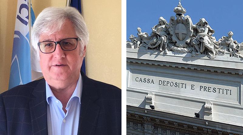 Michele Cappadona, Cassa depositi e prestiti