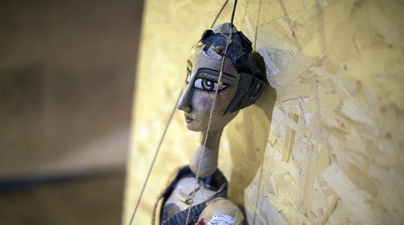 Valigie d'artista, marionette