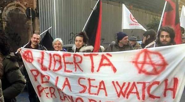 Manifestazione Catania Sea Watch
