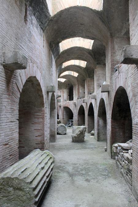 Pozzuoli, sotterraneo dell'Anfiteatro Flavio
