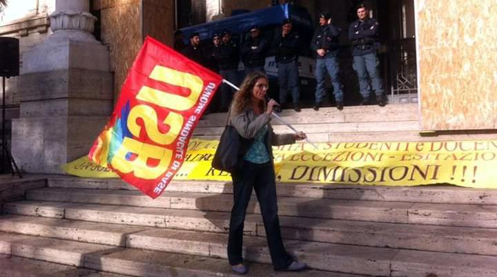 Manifestazione Scuola Usb