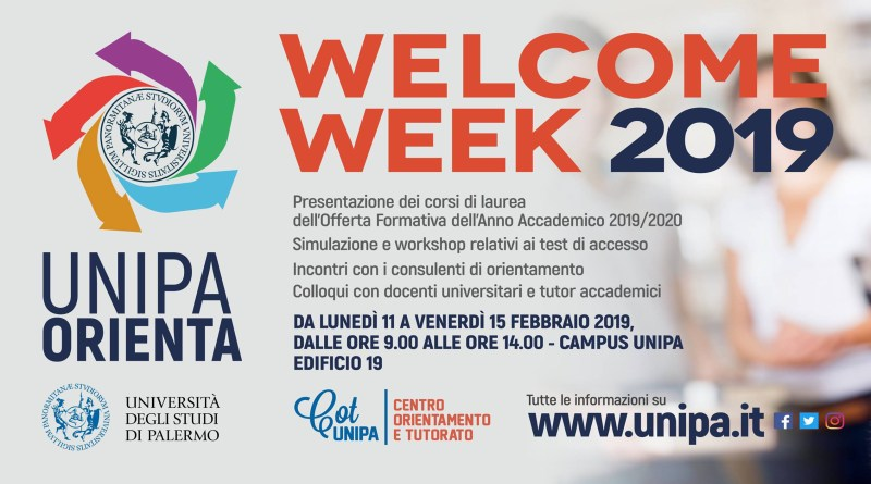 Welcome Week unipa 2019