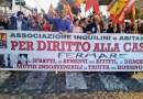 Catania, vertenza casa. Presidio Usb contro lo sfratto di Carmen