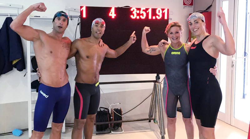 Record europeo di nuoto, polisportiva Mimmo Ferrito