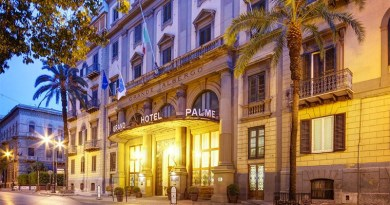 hotel delle palme, palermo