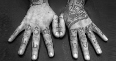 Tatuaggi, mani tatuate