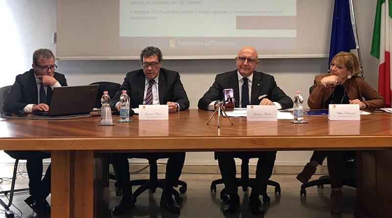 bollettino del fabbisogno finanziario della Regione Sicilia e Rapporto sul creduto