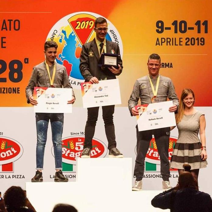 premiazione campionato mondiale pizza
