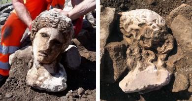 Divinità in Campidoglio: ritrovata testa di statua di età imperiale durante gli scavi archeologici del Foro Traiano a Roma